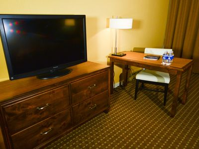 Photo for New Listing! The Lodge - Deluxe Two Queen Beds