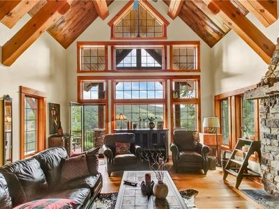 Photo for Beautiful chalet with outdoor patio