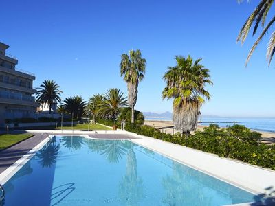 Photo for Modern and luxury apartment  with communal pool in Denia, on the Costa Blanca, Spain for 5 persons