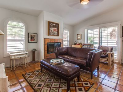 Photo for NEW LISTING! Mountain view home w/outdoor pool, spa & furnished patio
