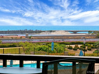 Photo for Del Mar - 3 bedrooms 3.5 baths in 3 story beach Condo with stunning views