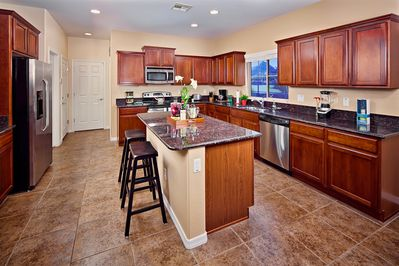Upgraded full kitchen with everything you need!