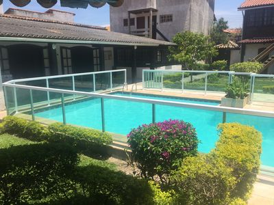 Photo for House in Condominium with Pool and Barbecue - Praia dos Anjos / Praia Grande
