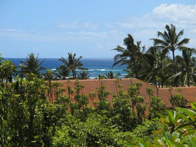 Photo for Upscale Ocean View Condo... Sunset Views... A/C ...Poipu Athletic Club Access