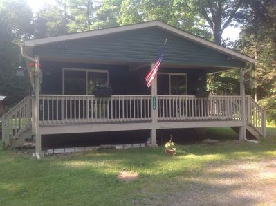 Cozy 3 Bedroom home is quiet, wooded area; end of cul-d-sac.