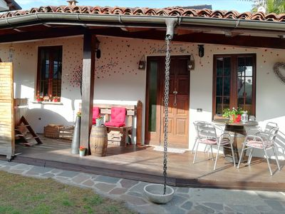 Photo for Single chalet with garden and services for your physical and mental well-being