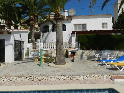 Photo for Casa Palmera for 6 persons - 5 minutes from the beach! With private pool!