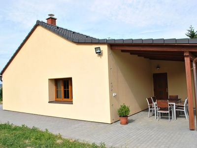 Photo for Luxury bungalow at resort with heated swimming pool. comfortable and cosy