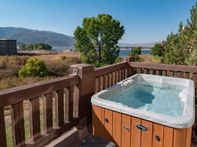 Photo for Lake Condo w/Private Hot Tub & Pineview Res Views