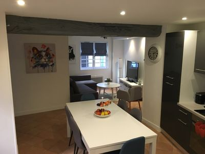 Photo for T3 apartment rental for weekend or week in the heart of Honfleur