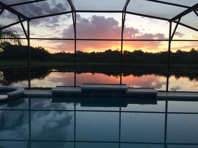 Photo for Ìn Orlando/Kissimmee Beautiful Villa, Large Private Pool and Spa, Amazing Views