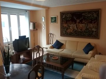 3 room flat and garage in Zaragoza center, fully equipped. WIFI