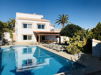 Photo for Luxurious villa with sea views and pool of 14mx7m