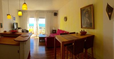Photo for SUNNY HARBOR APARTMENT IN VALLE GRAN REY WITH LARGE BALCONY, 50m TO THE BEACH, WIFI