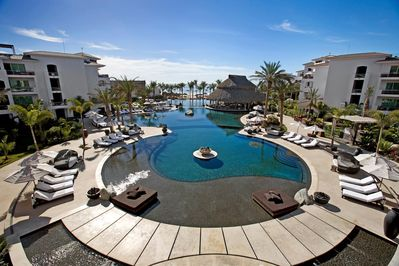 Cabo Azul Resort Tri Level Infinity Pool