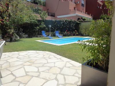 Photo for Villa 5 bedrooms  near beach with private heated pool