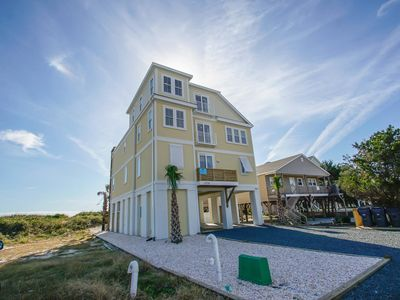 Photo for Recently built, Gorgeous 8 bedroom, 6.5 bathroom Oceanfront Home with Private Dune Front Pool and all the amenities needed for your perfect beach vacation!