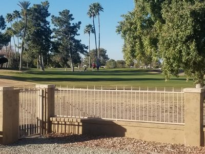 Photo for Big 3 br/2 bath  golf course home near  dining, recreation, golf fiesta bowl