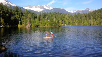 Photo for Magical Mountain Retreat on Spring Fed Warm Water Swimming Lake - 2 WEEK MINIMUM