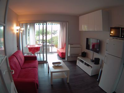 Photo for 3 *** APARTMENT 4 PEOPLE WITH GARDEN ORIENTED SOUTH