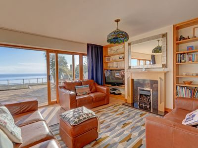 Photo for Wonderful holiday home with beautiful views and sliding doors to a luxury terrace