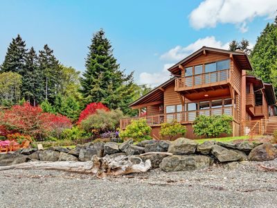 Photo for Rockaway Beach Waterfront Home with Stunning Views
