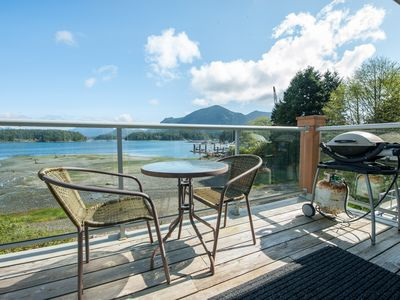 Photo for Tofino Waterfront Condo -  King Bed - Parking - BBQ - By OnlyBC !