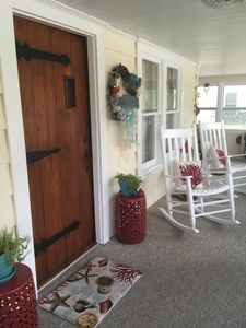 Photo for Pet Friendly Beachside Cottage steps from the beach - Monthly Beach Rental