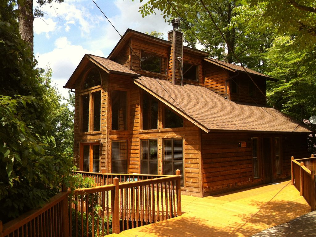 homes cabin tn smoky rentals hidden cabins mountain tennessee vacation townsend large