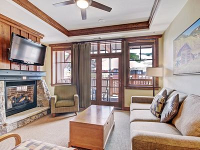 Photo for Luxury 5 bedroom Ski-in/Ski-Out Condo at Base of Peak 8! ~ RA161033