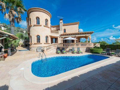 Photo for VILLA ONIEVA - Majestic chalet in Son Servera, with private pool and only 2.8 km from the beach of Cala Bona