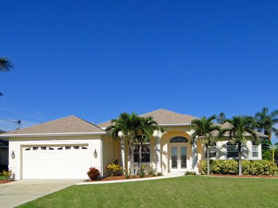 Photo for Wonderful Villa with large sunny Pool & Patio, Sailboat Gulf Access 5min