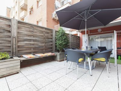 Photo for Sagrada Famila with private terrace apartment for families