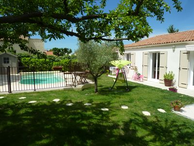 Photo for house of 140 m2 with fenced pool