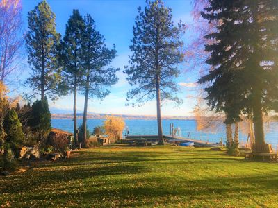 Photo for SPECTACULAR FLATHEAD LAKE RETREAT!