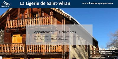 Photo for Apartment 3 * - 4 bedrooms Saint Véran - QUEYRAS