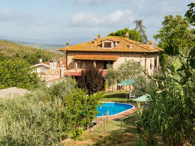 Photo for Farmhouse in Tuscany WIFI free, with pool, on request with cook