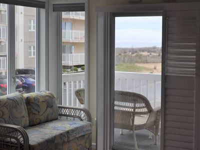Photo for Unit 1 End unit, Great Ocean View, 50 steps to the Beach, Parking & Linens