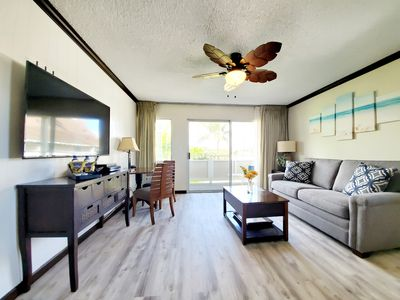 Photo for Central location |NEWLY| Remodeled Condo, Steps to the Beach, Convenience.