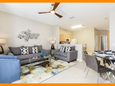 Photo for Windsor Hills Resort 320 - townhouse with private pool & themed room nr Disney