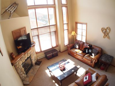 Photo for Excellent multi level 3 bedroom townhouse with easy access to nearby runs and lift