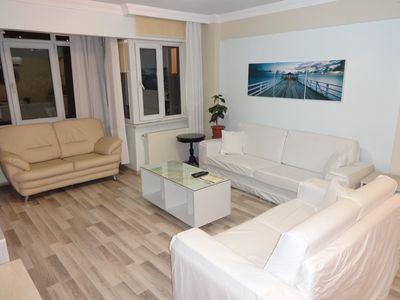 Photo for New Muvezzi apartment in Beşiktaş with WiFi, air conditioning, private parking & balcony.