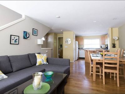 Photo for Super Location, Free Parking, 3 Bedroom + Loft, 3.5 Ba, Sleeps 10, Tesla Charger