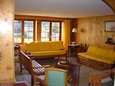 Photo for Charming chalet close to the slopes