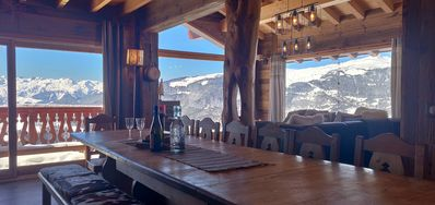 Les Mélèzes - Very beautiful Chalet 200m from the slopes of La Plagne - 12-15 pers.