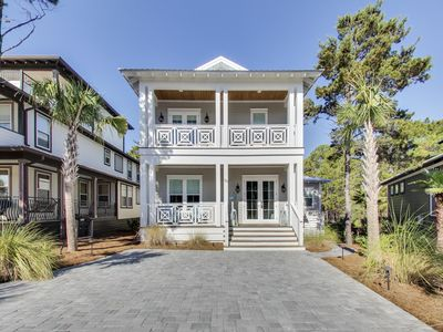 Photo for New!!! Beach Home At Seacrest, 5 Bd/4 Bth Sleeps 14, Lagoon Pool