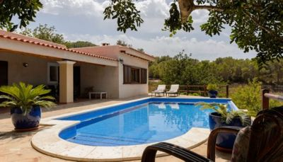 Photo for Beautiful Country House with Pool, Wi-Fi, Air-Conditioning, Garden and Sea View; Parking Available