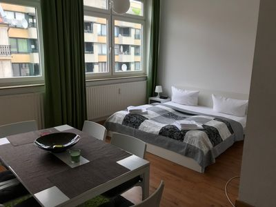 Photo for Wilhelm Superior  apartment in Kreuzberg with WiFi & lift.