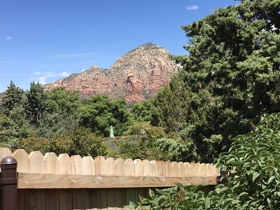 West Red Rock View from your Private Patio Sitting Area