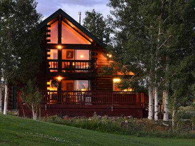 Photo for PAGOSA SPRINGS LUXURY CABIN - ON GOLF COURSE - 20 MILES TO WOLF CREEK SKI AREA